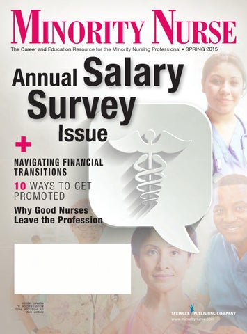 Minority Nurse Magazine (Spring 2015) by Springer Publishing Company