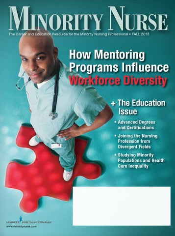 Minority Nurse Magazine Fall 2013 By Springer Publishing Company