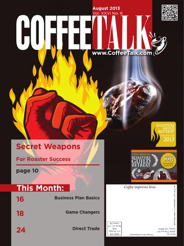 August 2013 by CoffeeTalk Magazine - issuu