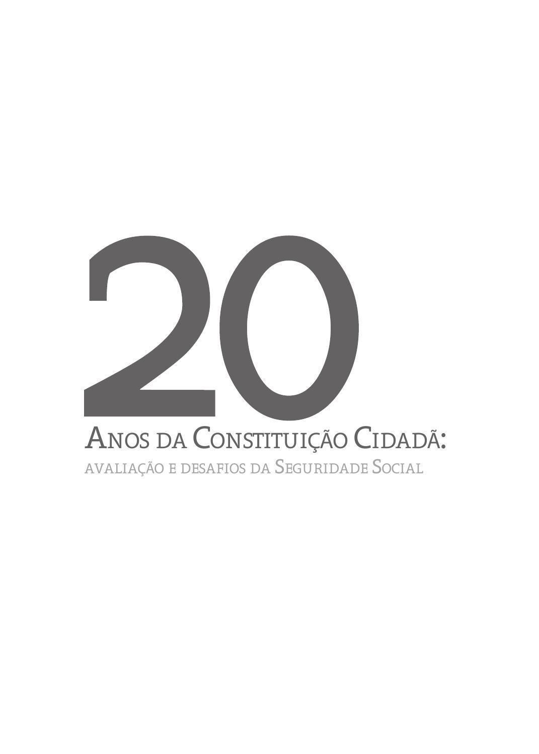 20 Anos da Constituição Cidadã by Sidnei de Braga Junior - issuu 4e488414a3