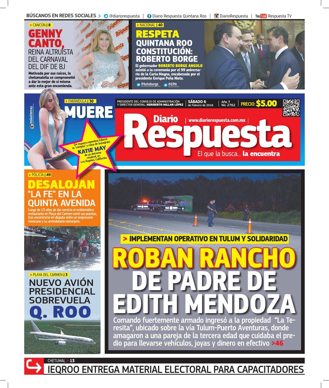 Diario Respuesta 06 de Febrero de 2016 by Diario Respuesta - issuu 6e7fcf449fb