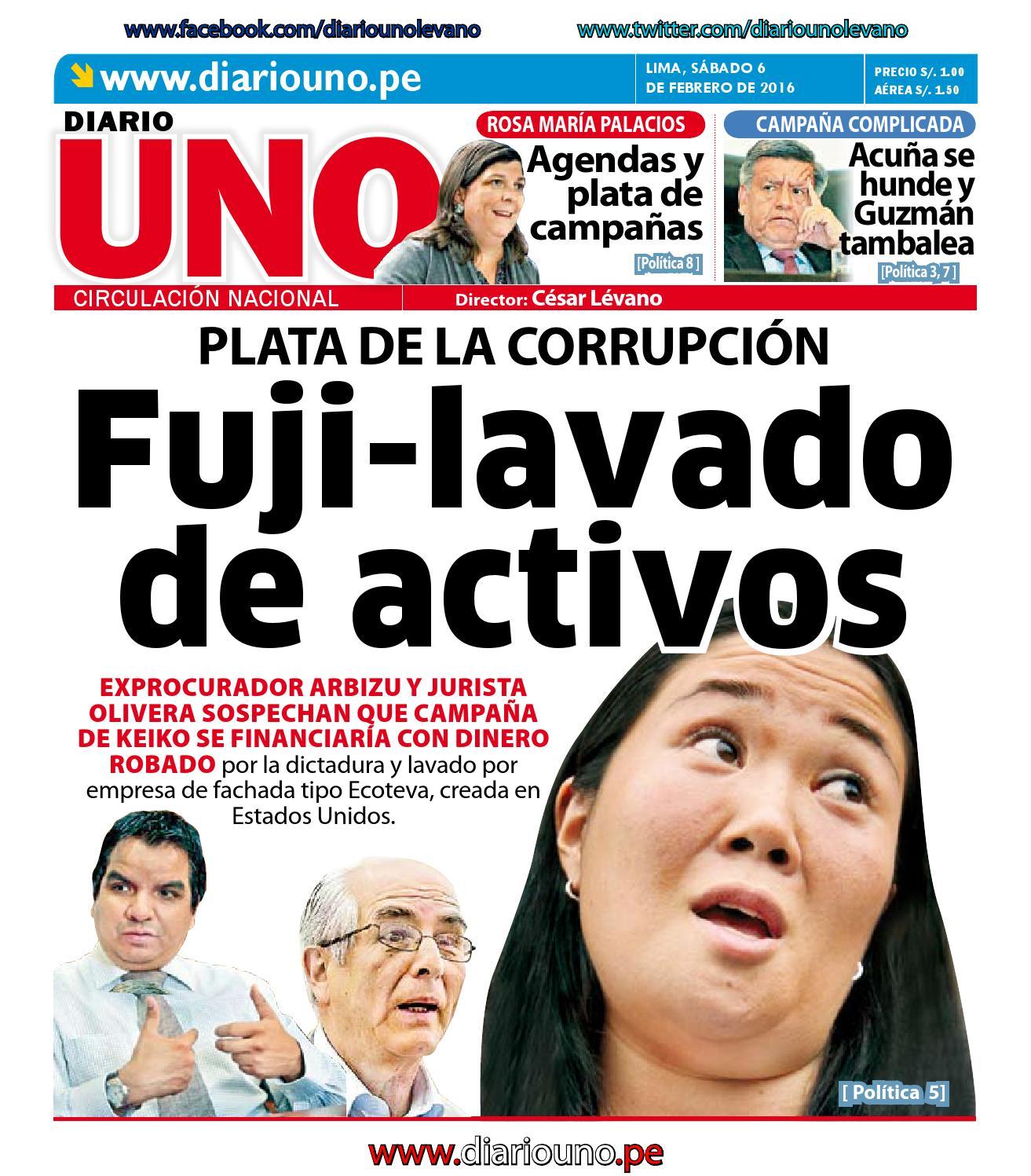 65bf0671c2e Diario UNO - 06 Febrero 2016 by Diario UNO - issuu