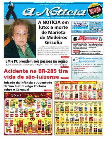 2530d3ce48e21 Edição de 6 e 7 de fevereiro de 2016 by Jornal A Notícia - issuu