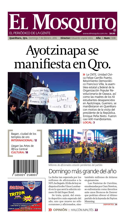 11f9c63aa87e7 El Mosquito  Febrero 7 by El Mosquito El periódico de la gente - issuu
