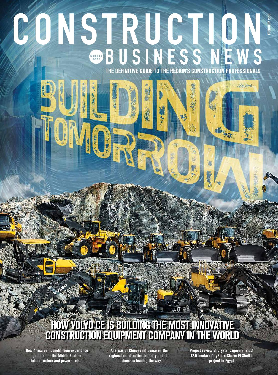 Construction Business News ME - February 2016 by BNC Publishing - Issuu
