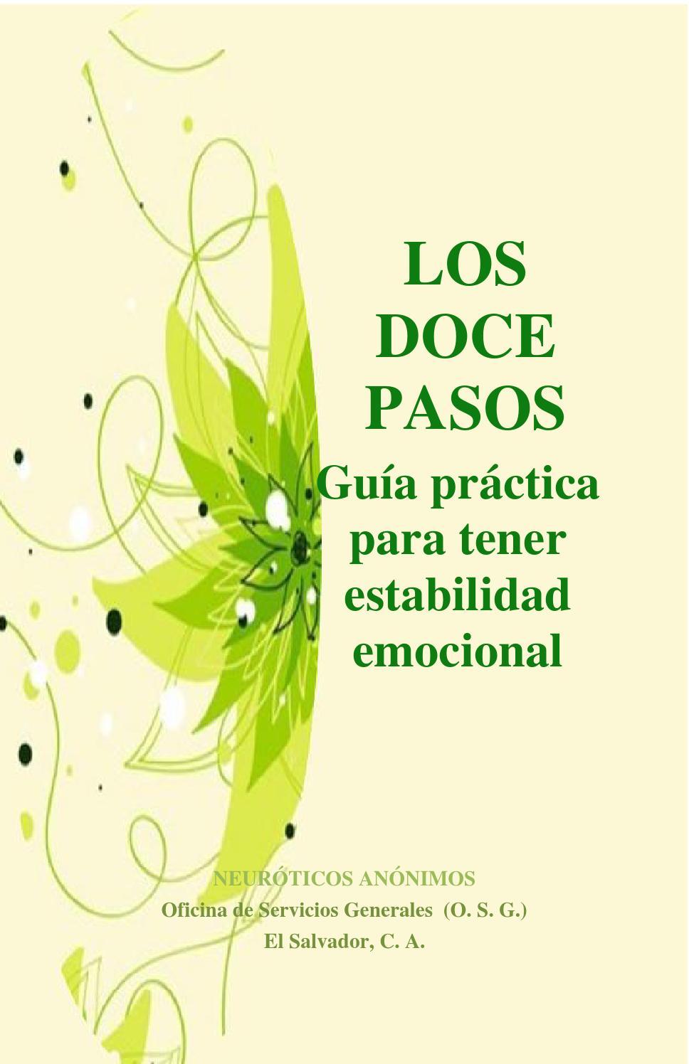 Los Doce Pasos de Neuróticos Anónimos by Neuróticos Anónimos_sv - issuu