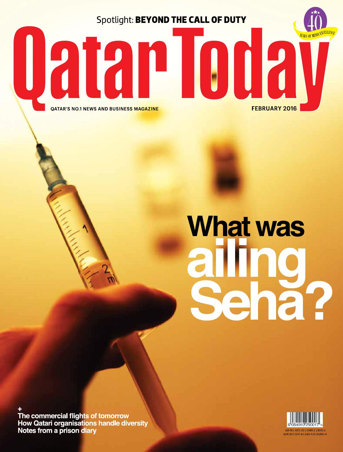 Qatar Today February 2016 by Oryx Group of Magazines - issuu