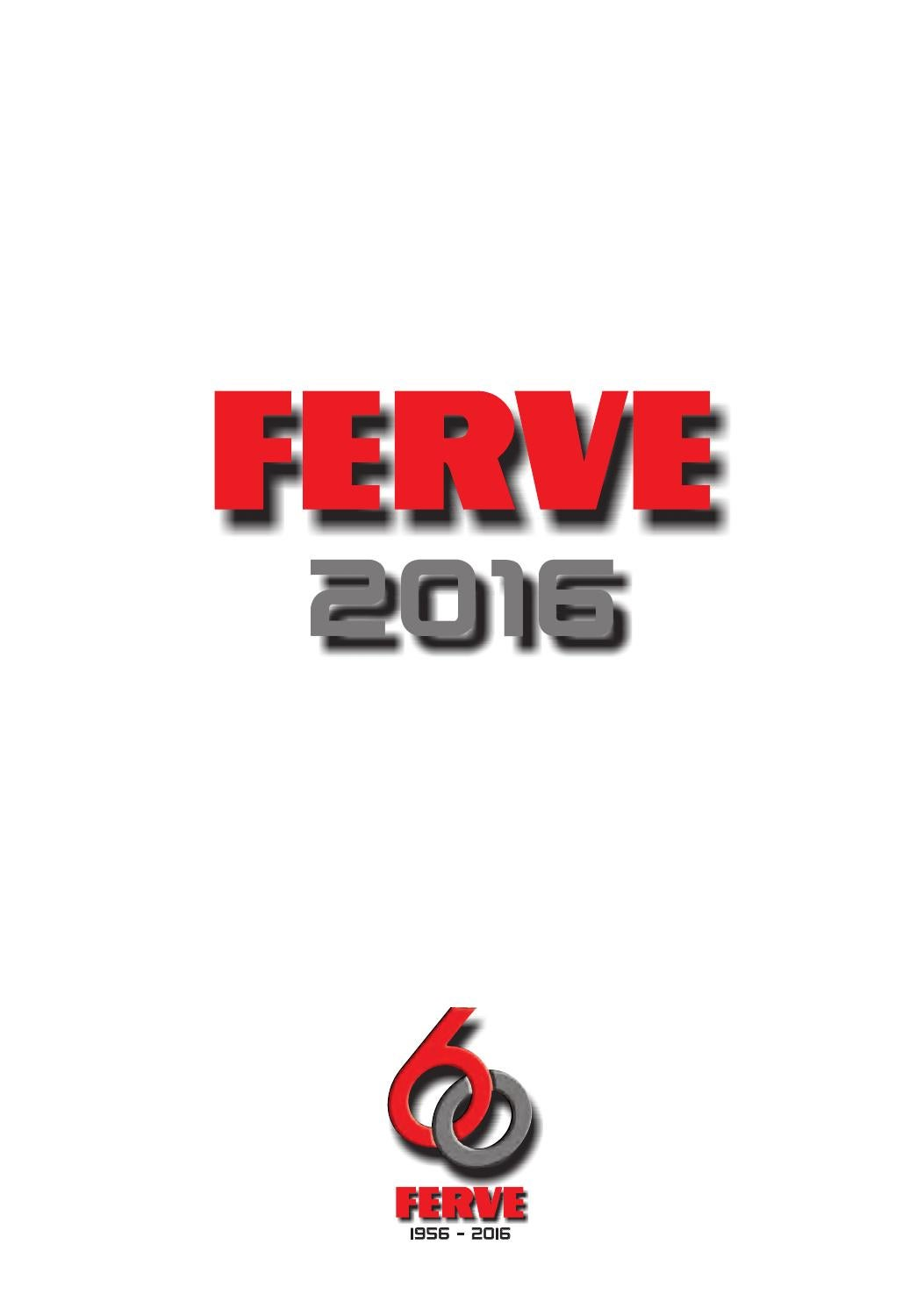 Catalogo ferve 2016 by Ruben Morcillo - issuu