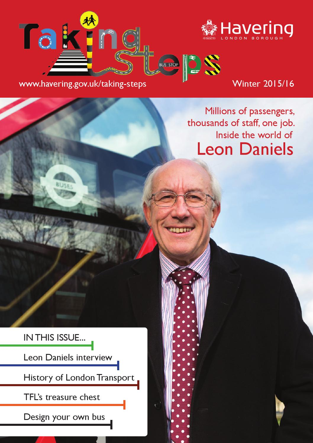 Taking Steps: Taking Steps Winter 2015 16 By Havering Council