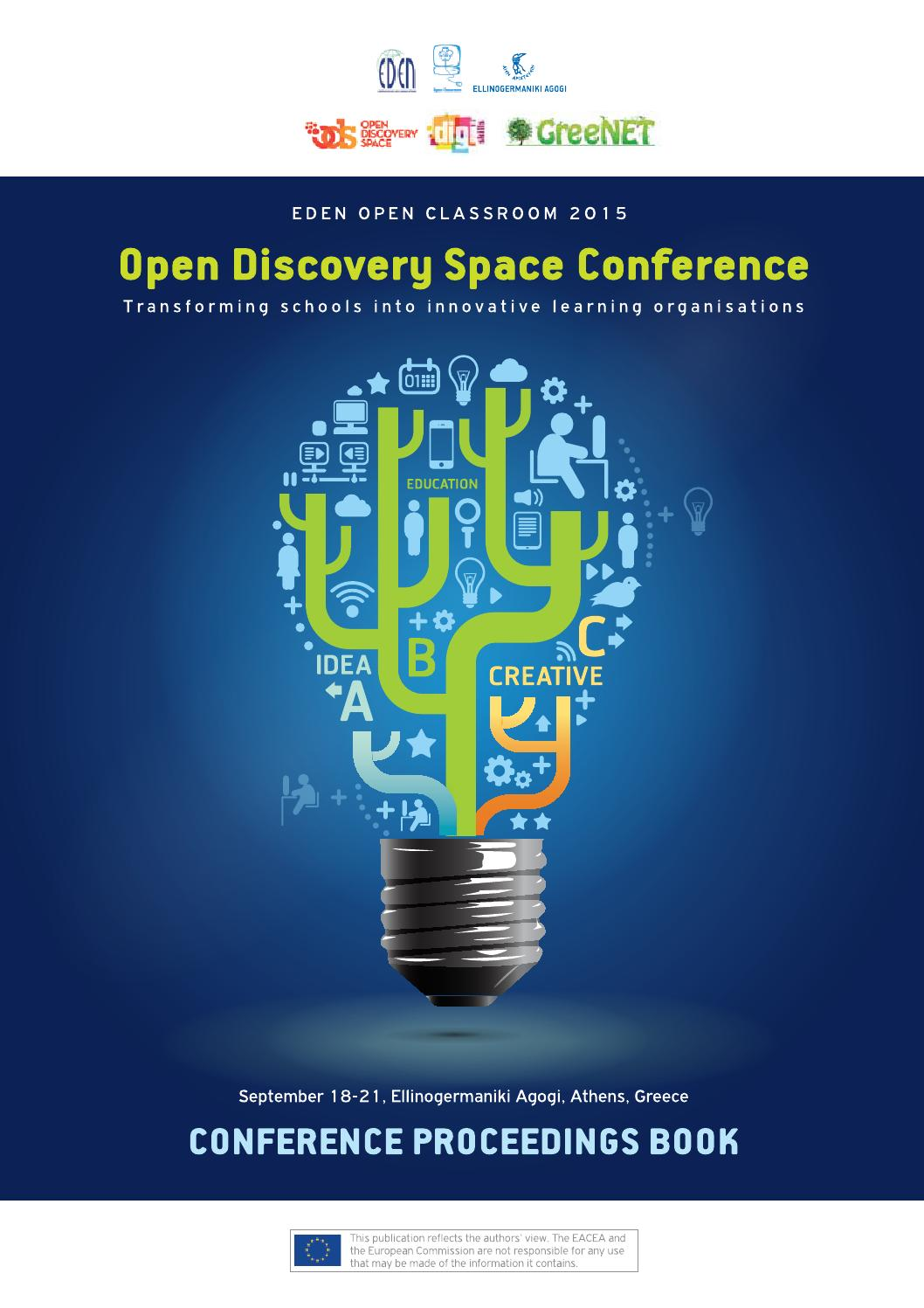 EDEN Open Classroom Conference 2015 - Open Discovery Space by EDEN ...