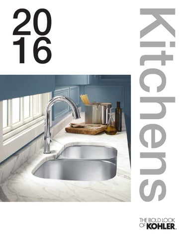 KOHLER UK Kitchen Sinks and Taps 2016 by Kohler UK - issuu