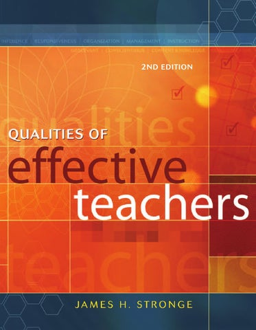 Qualities of effective teachers by william alexander diaz romero issuu page 1 fandeluxe Gallery