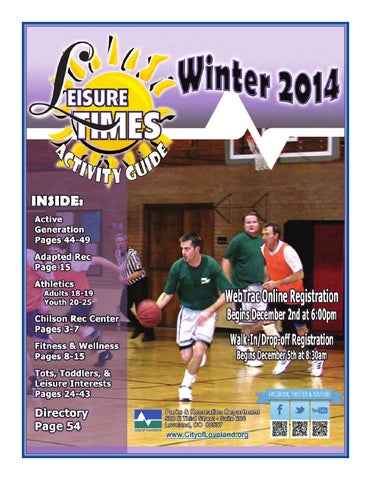 Winter 2014 Leisure Times Activity Guide