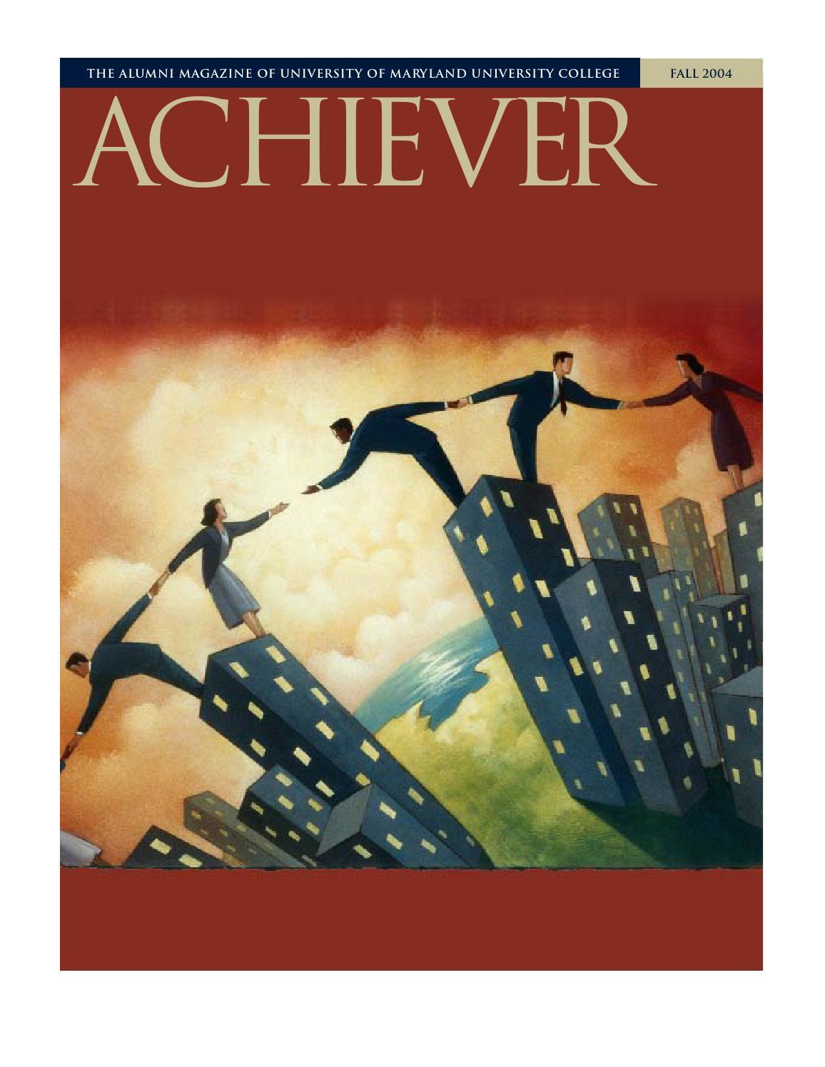 UMUC Achiever Magazine, Fall 2004 by University of Maryland ...