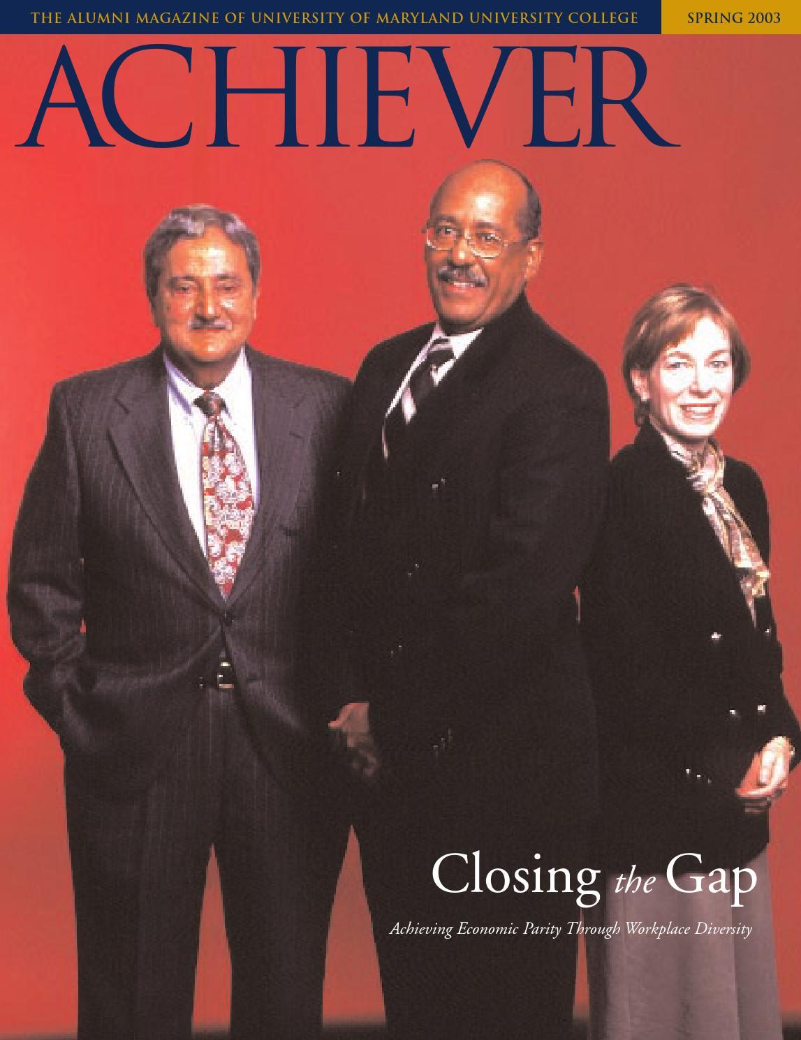 UMUC Achiever Magazine, Spring 2003 by University of Maryland ...