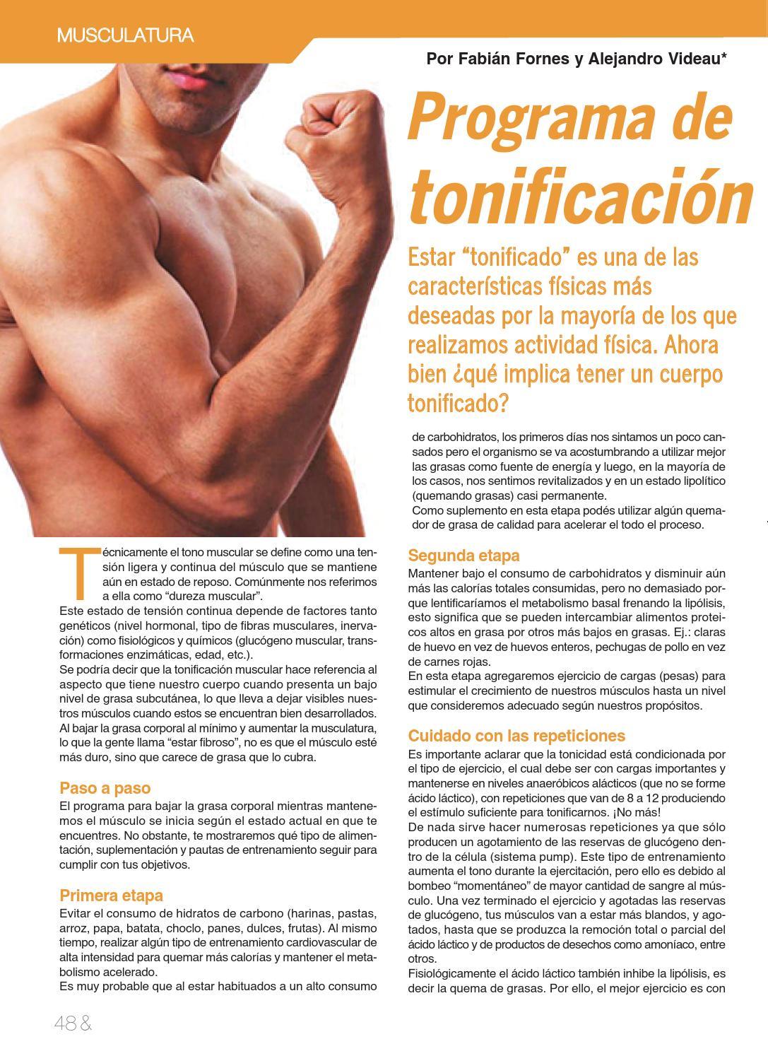 transformación de grasa a tonificada