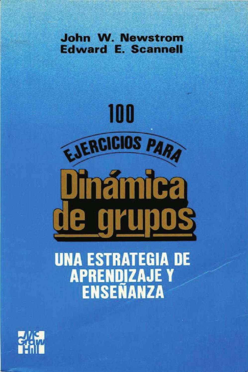 100 Ejercicios Para Dinamica De Grupos By Hans Gutierrez Issuu