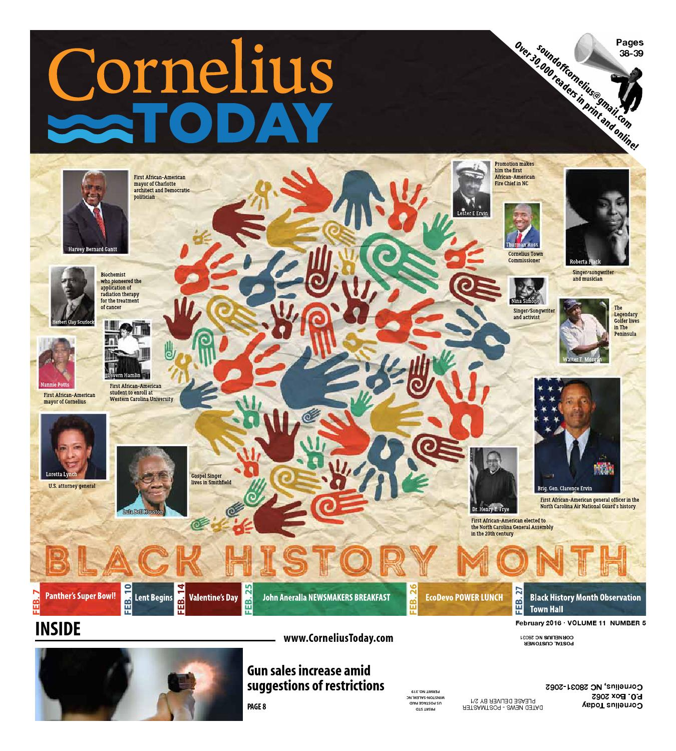 Cornelius Today February 2016 by Business Today Cornelius Today