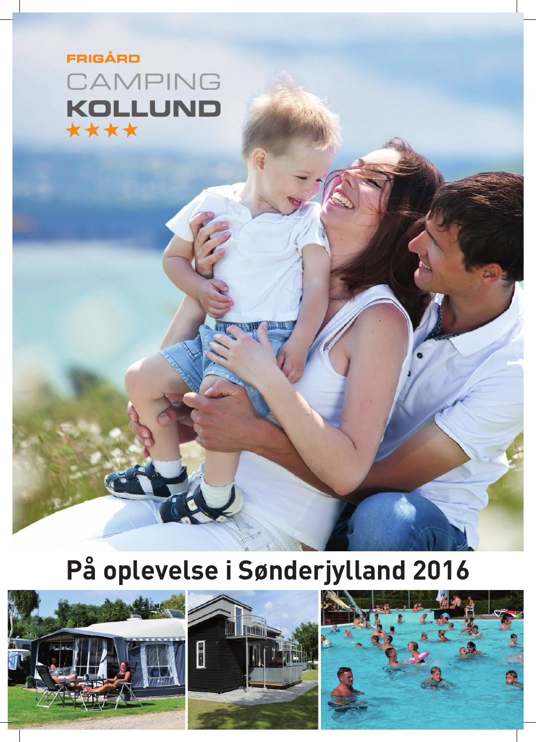 Frigard Camping Pa Oplevelse I Sonderjylland 2016 By Simon Andre