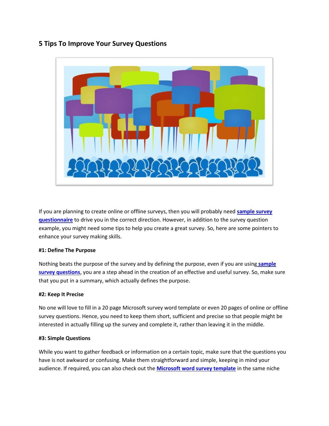 Sample survey questionnaire,sample survey,excel survey by
