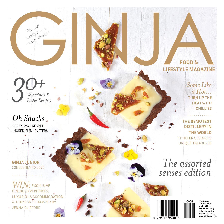 Ginja Food & Lifestyle Magazine Feb Mar \'16 by GINJA Food Media (Pty ...