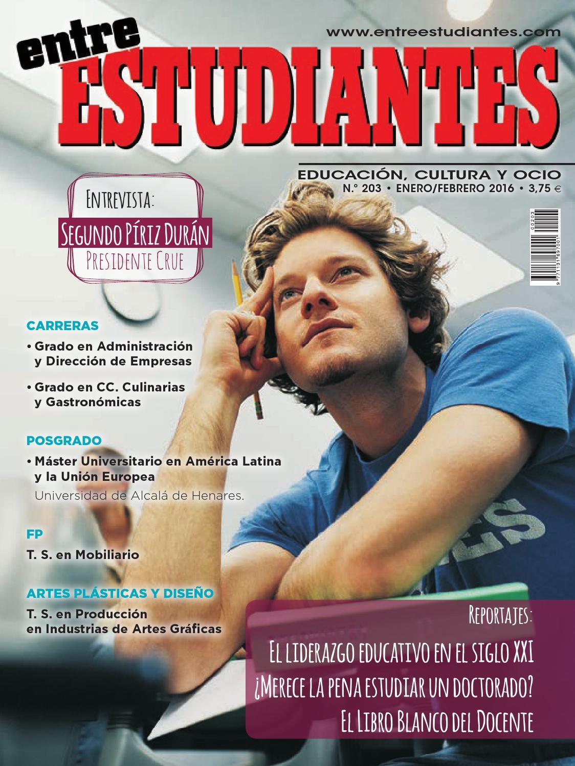Entre Estudiantes - 203 by Peldaño - issuu
