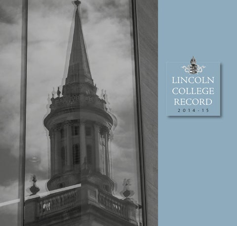 Lincoln College Record 2014-15 by Lincoln College - issuu 356141a86a