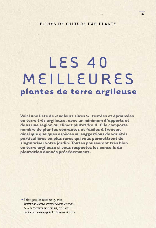 Quoi Planter Dans Une Terre Argileuse extrait que planter en terre argileuse - Éditions ulmer