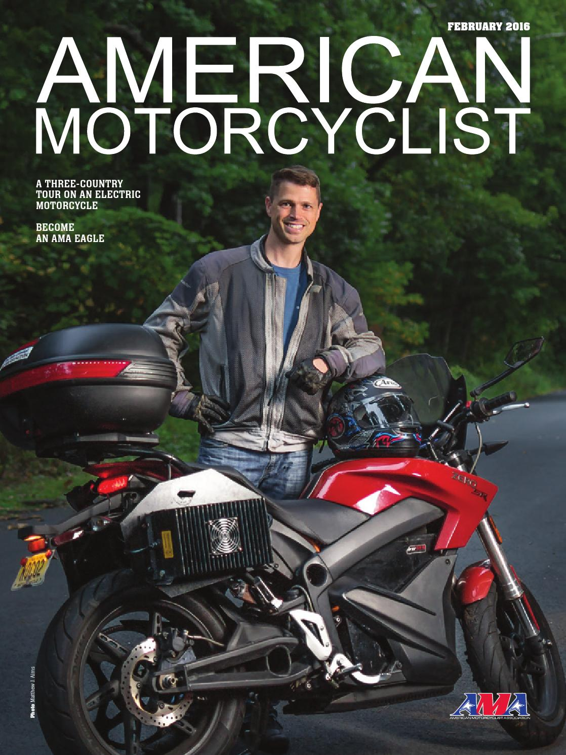 lovely american motorcyclist #2: American Motorcyclist February 2016 Street (preview version) by American  Motorcyclist Association - issuu