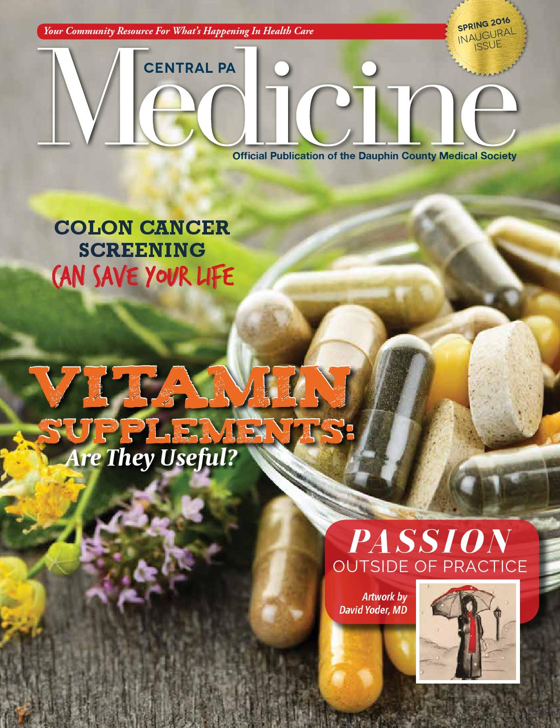 Central PA Medicine Spring 2016 by Hoffmann Publishing Group