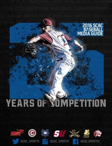 a493a20f8600 2016 SCAC Baseball Media Guid by SCAC Sports - issuu