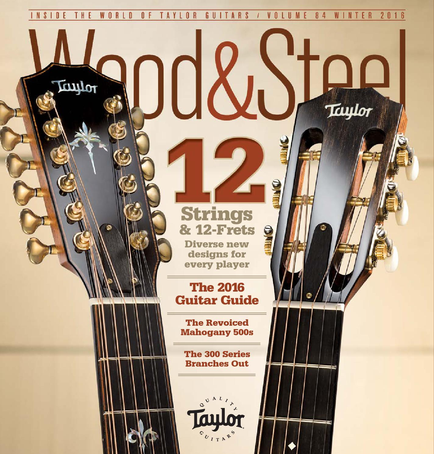 Wood Steel Volume 84
