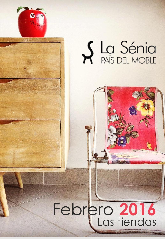 Revista la s nia pa s del moble by pymeralia issuu - Muebles bustos la senia ...
