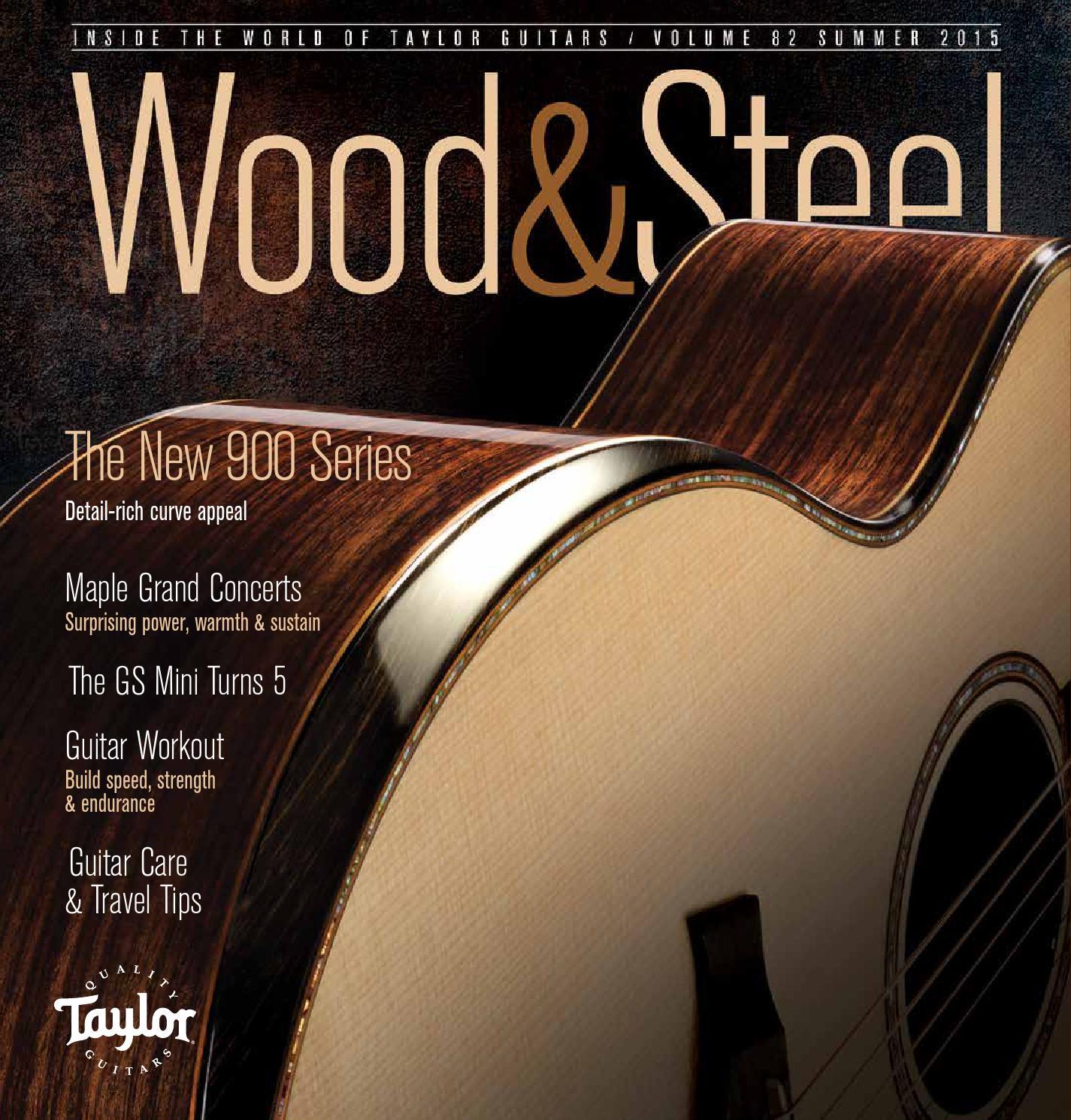 Wood Steel Volume 82 Summer 2015 By 1093bb Issuu