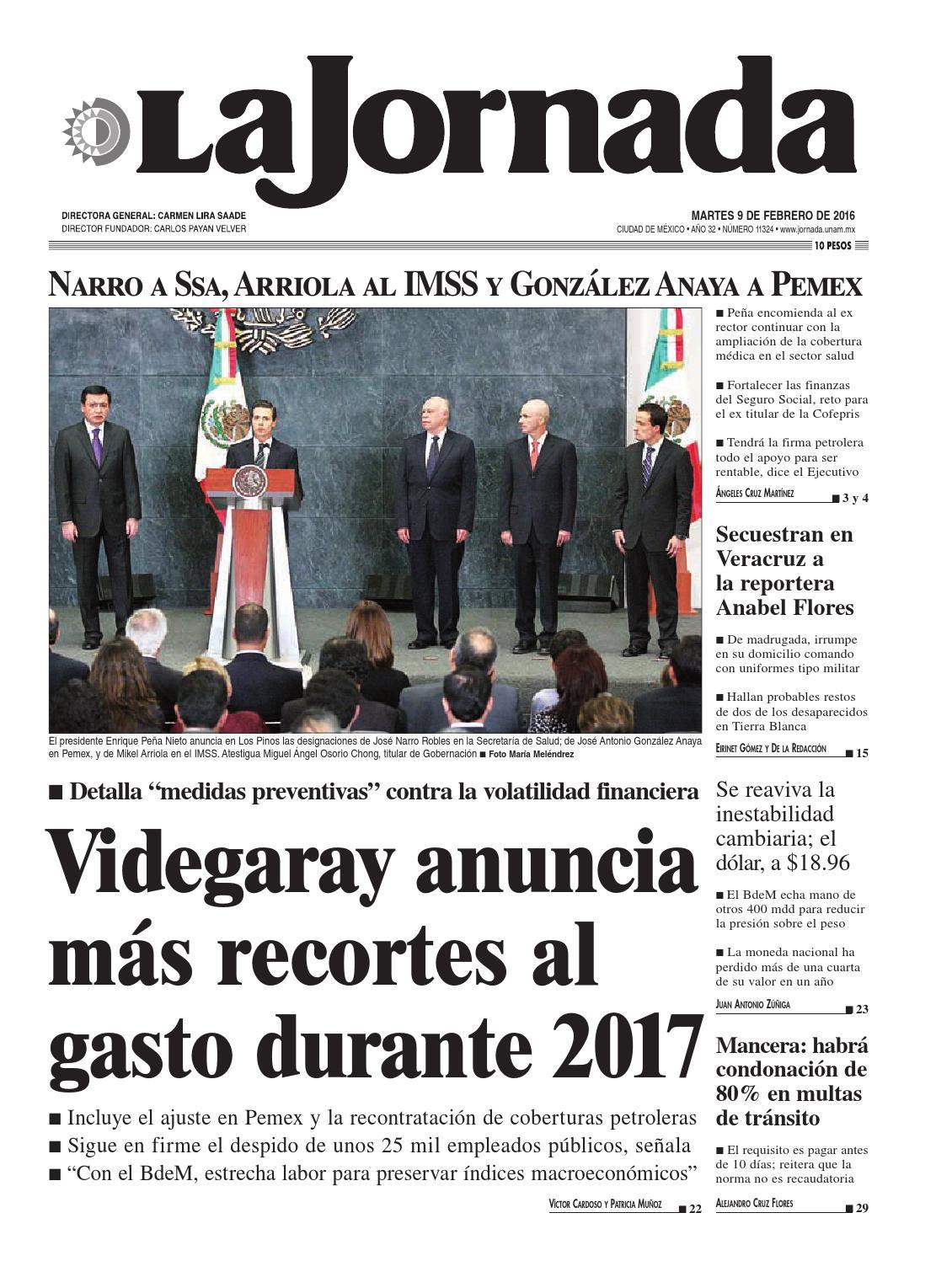 La Jornada 02 09 2016 By La Jornada Demos Desarrollo De Medios  # Muebles Tepito San Ysidro