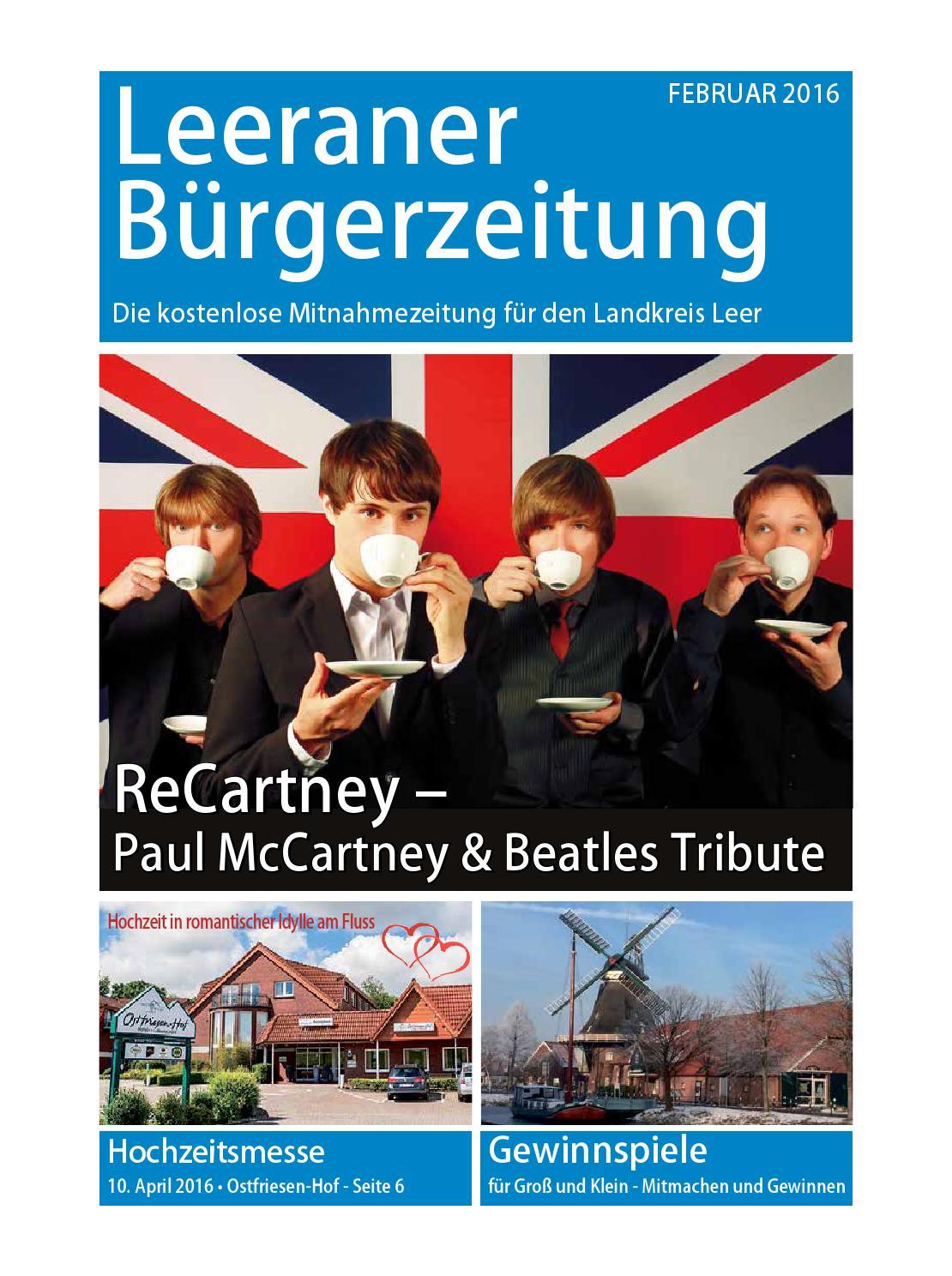 Leeraner Bürgerzeitung Februar 2016 by Ingo Buschmann - issuu