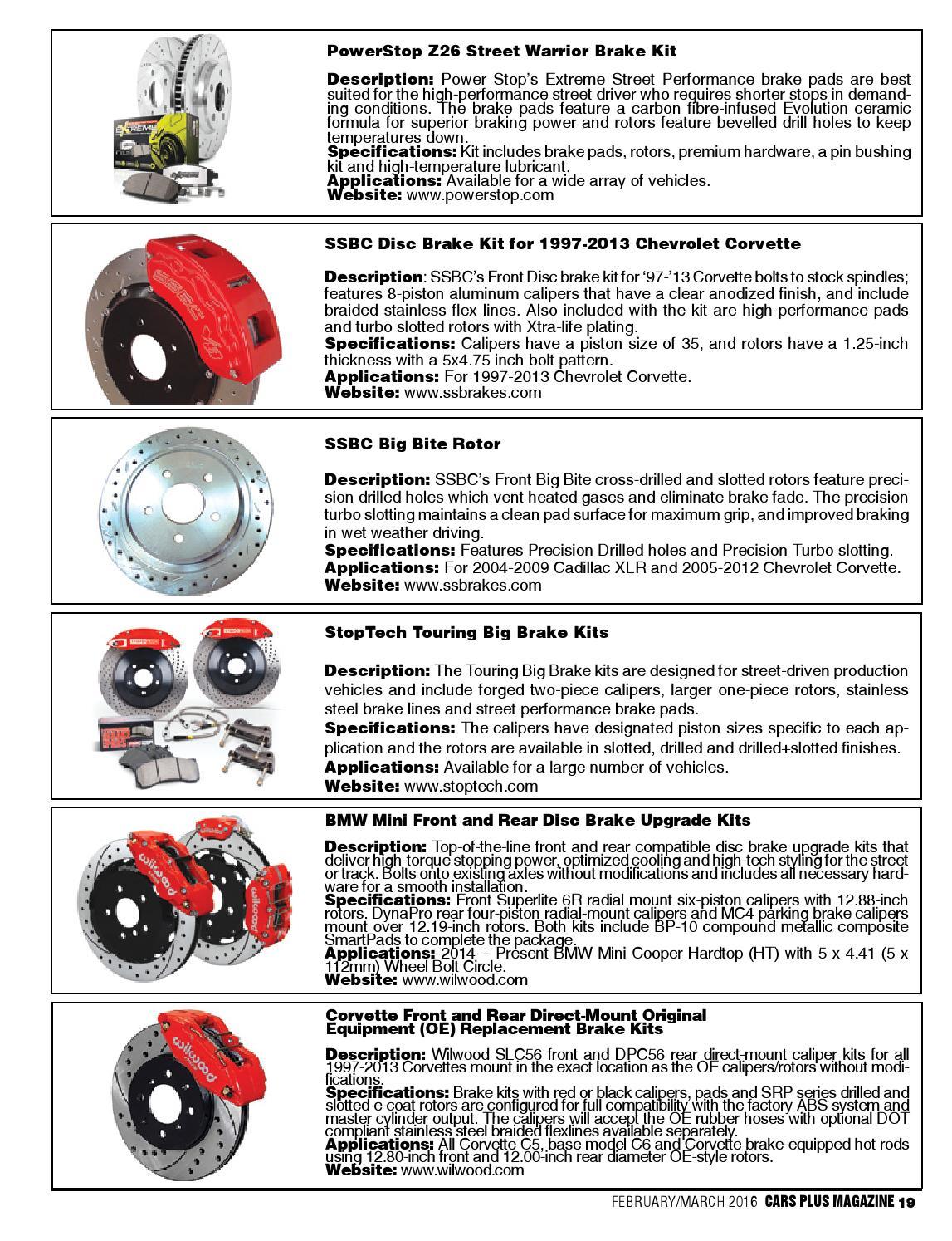 Front Black Cross-Drilled Slotted Brake Rotors Disc and Ceramic Pad Corvette,XLR