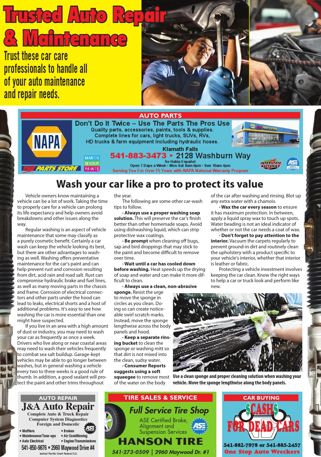 Automotive page 02-10-16 by Herald and News - issuu