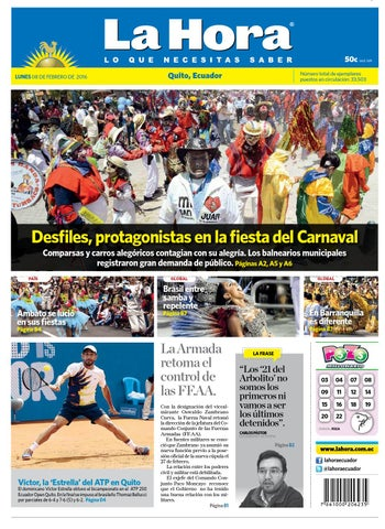 Quito 8 de febrero de 2016 by Diario La Hora Ecuador - issuu cdb215e7e81