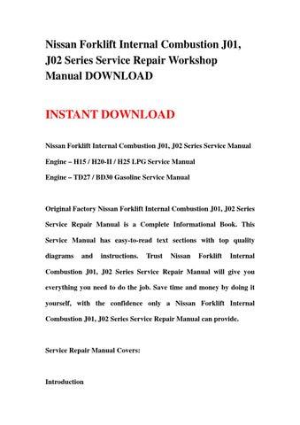 nissan bd30 engine manual schematics wiring diagrams