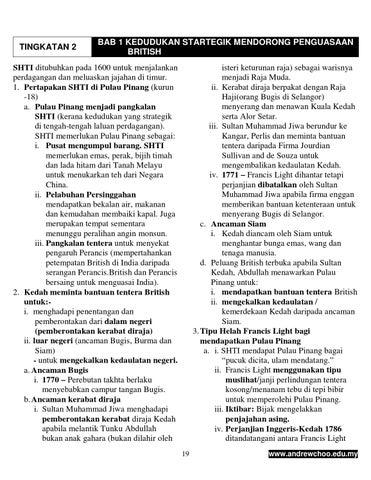 Nota Sejarah Tingkatan 2 1 By Siti Issuu