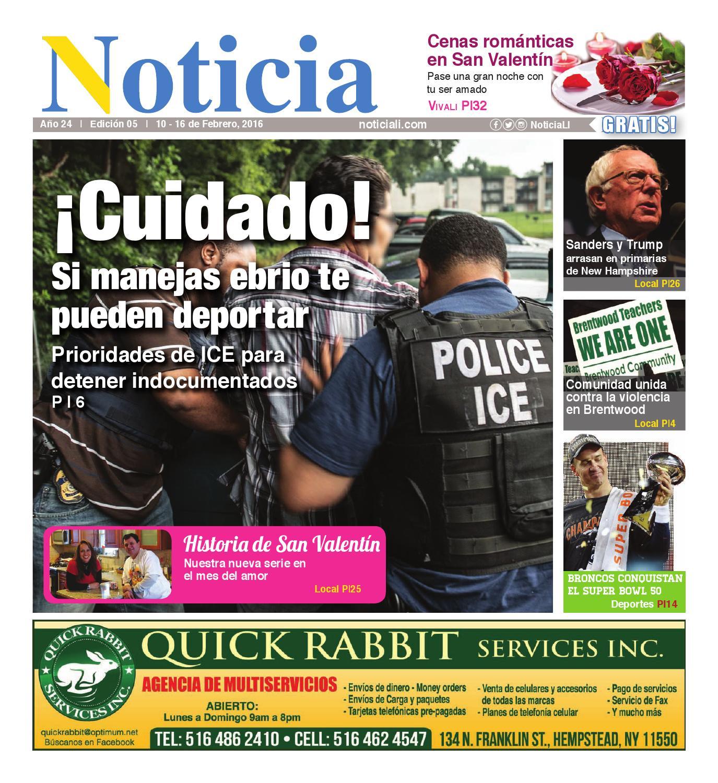 Ed 0516 by Noticia - issuu