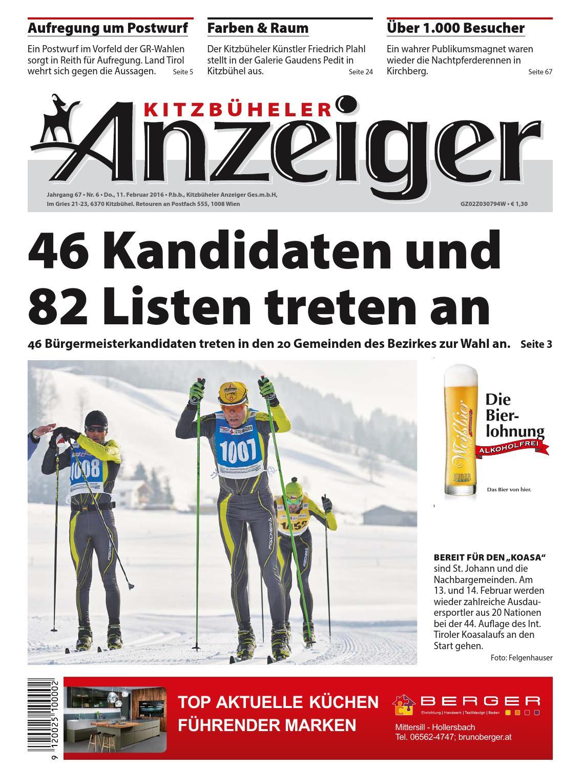 Kitzbüheler Anzeiger KW 06 2016 by kitzanzeiger - issuu