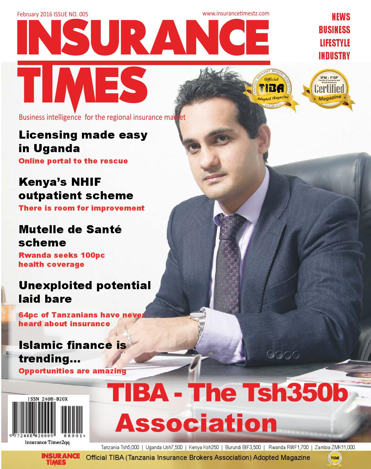 Insurance Times Magazine February issue 2016 by Insurance Times ...