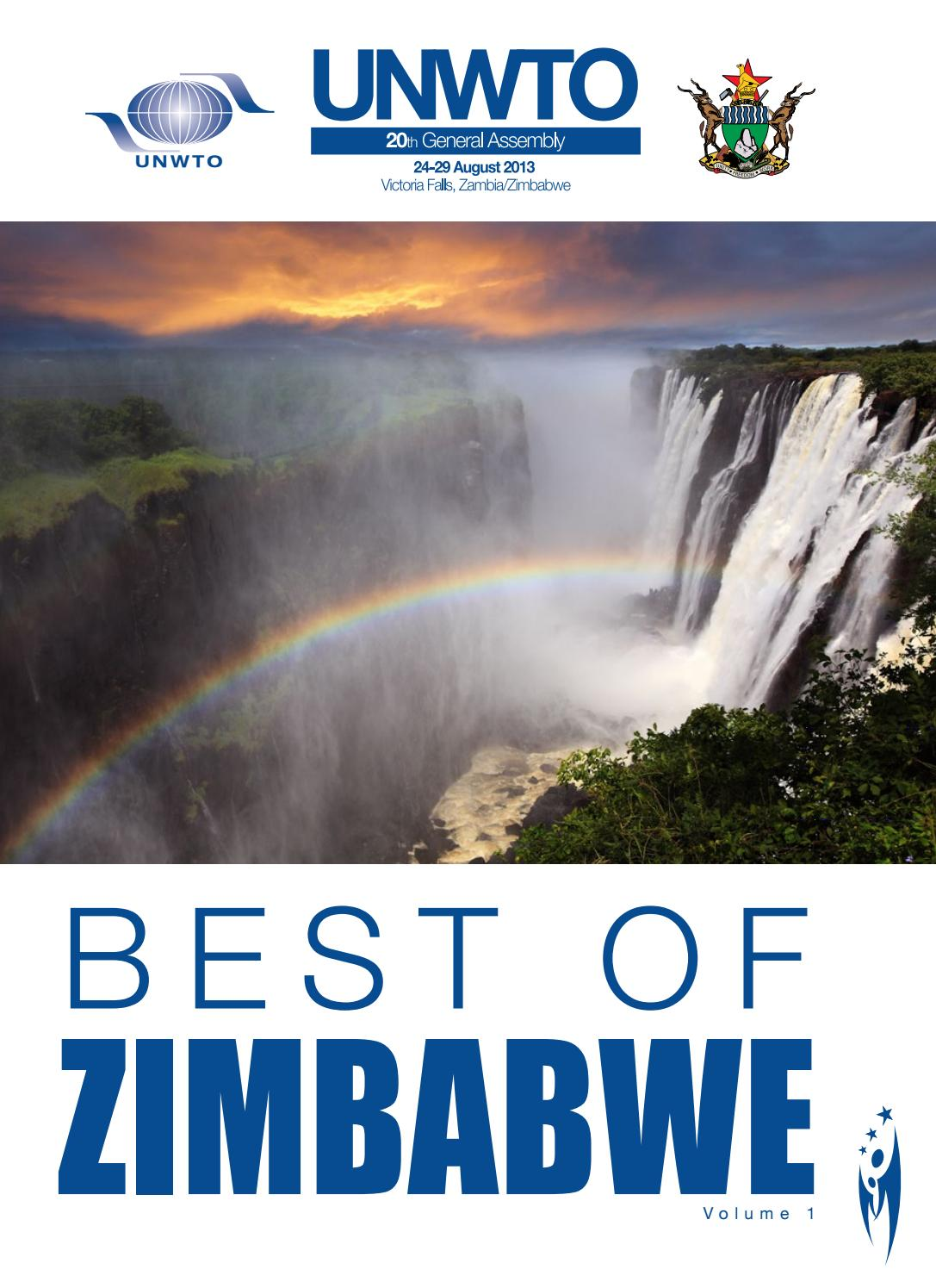 Best Of The Best 2017 By Colorado Community Media: Best Of Zimbabwe Vol.01 UNWTO By Sven Boermeester