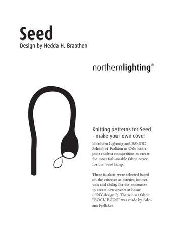 Strikke Oppskrift Til Northern Lighting Seed By Design