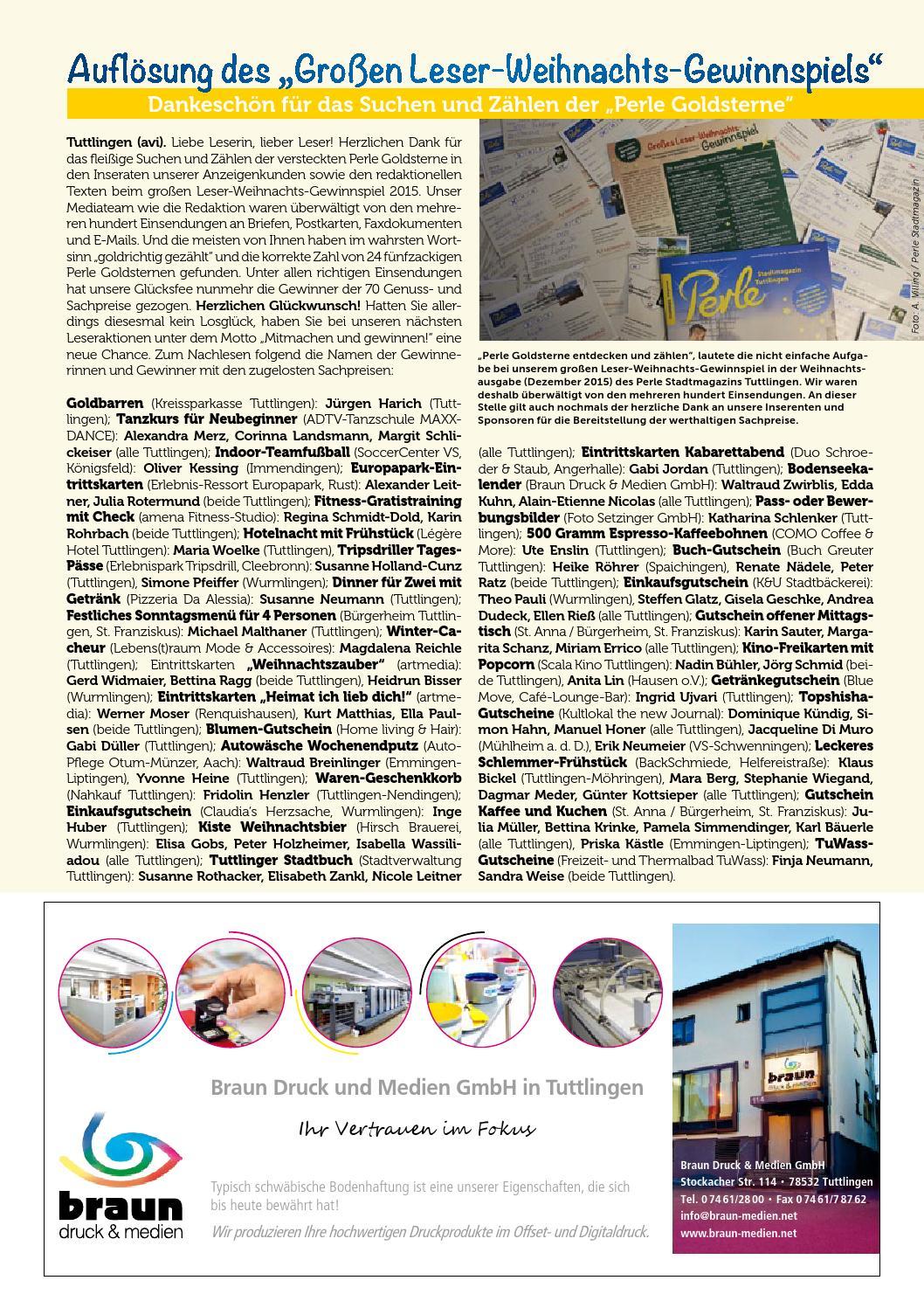 Perle Tuttlingen 34 by Perle Stadtmagazin - issuu
