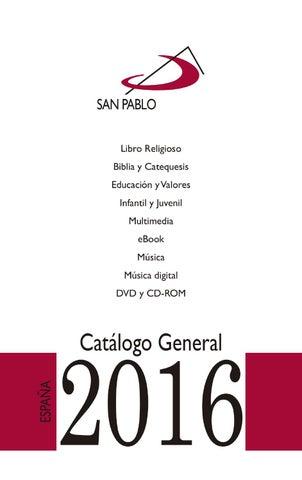 Catlogo General 2016 Editorial San Pablo By Editorial San Pablo Issuu