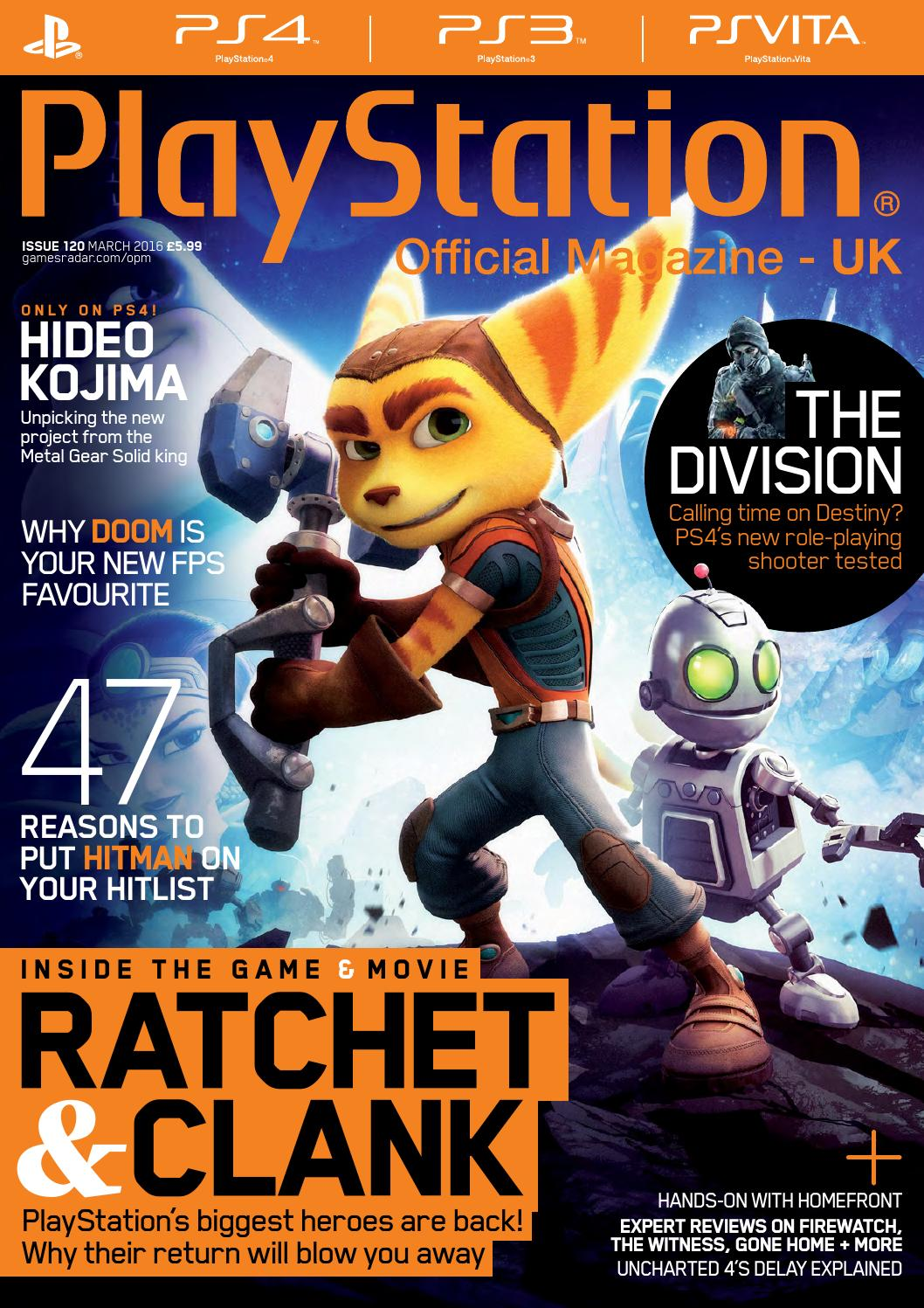 Official PlayStation Magazine 120 (Sampler) by Future PLC ...