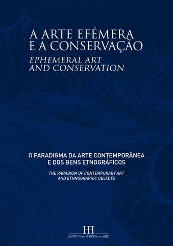 411d9023279 A arte efémera e a conservação  o paradigma da arte contemporânea e ...